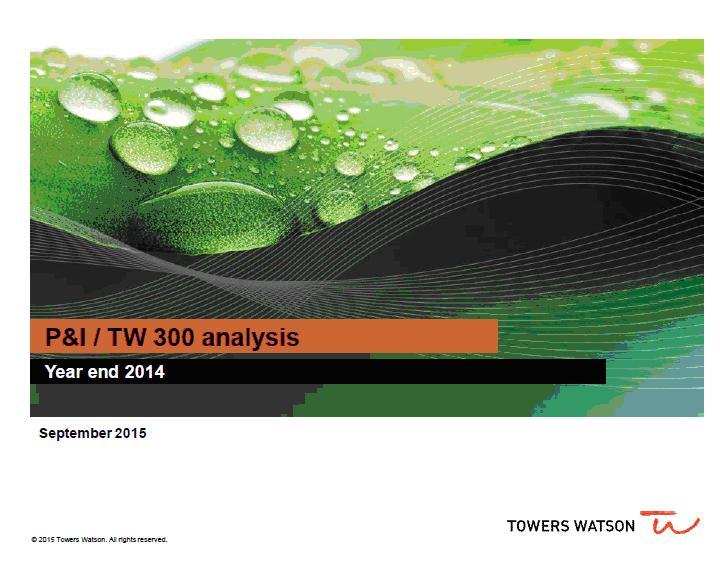 Towers watson top 300 study 2014